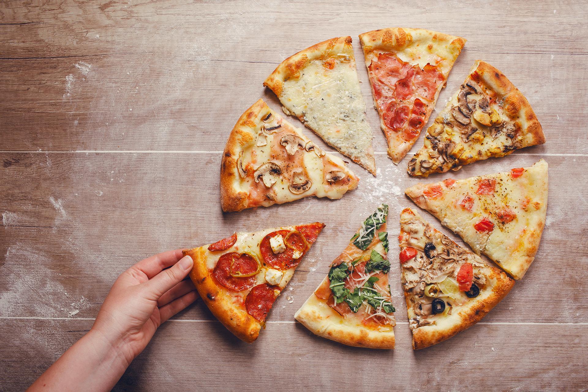 pizza's van Pizzeria Grillroom Atlantis