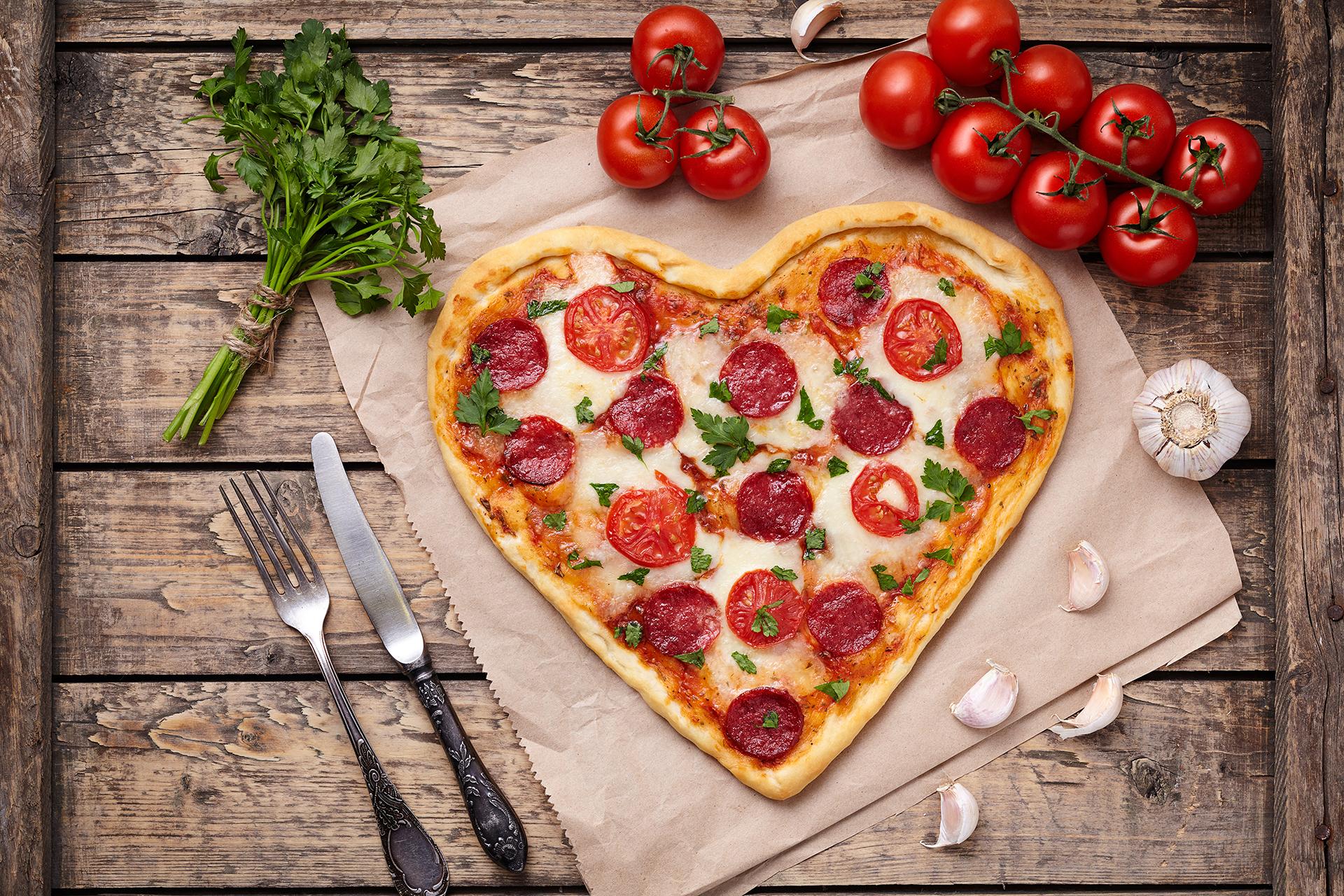 pizza's van Grillroom Atlantis in Spijkenisse